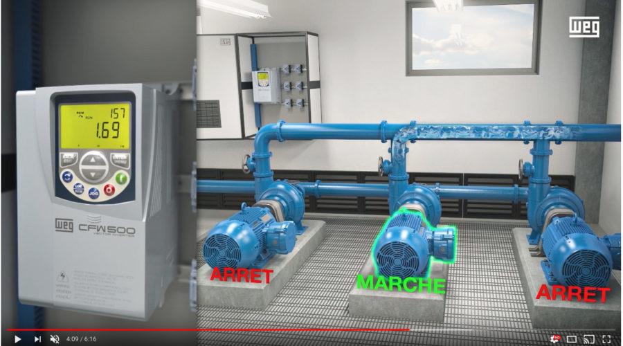 Pump Genius :  solution innovante de pilotage des pompes proposé par WEG AUTOMATION