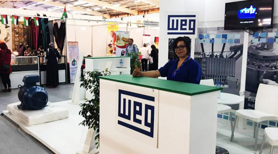 Le groupe WEG a participé à la 50ème édition de la Foire Internationale d'Alger