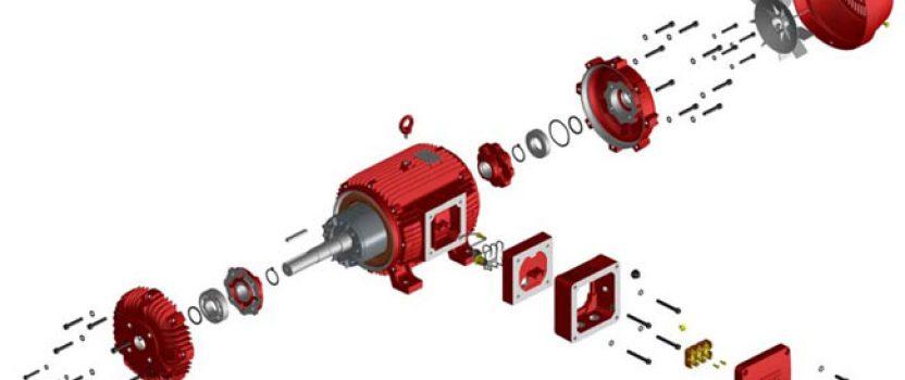Caractéristiques des moteurs ATEX stockés chez WEG France