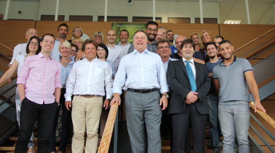 Mr Harry Schmelzer CEO du groupe WEG à la rencontre de clients et prospects français