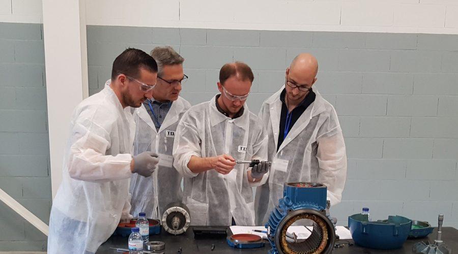 Formation des réparateurs francophones sur la remise en état des moteurs ATEX