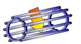 rotor cage écureuil moteur triphasé asynchrone