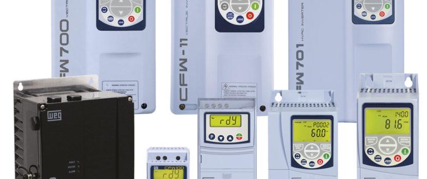 CFW, MW : une gamme complète de variateurs de vitesse basse tension