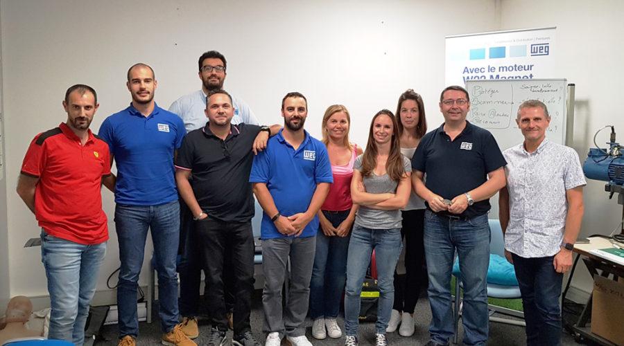 Formation de sauveteurs secouristes du travail chez WEG France