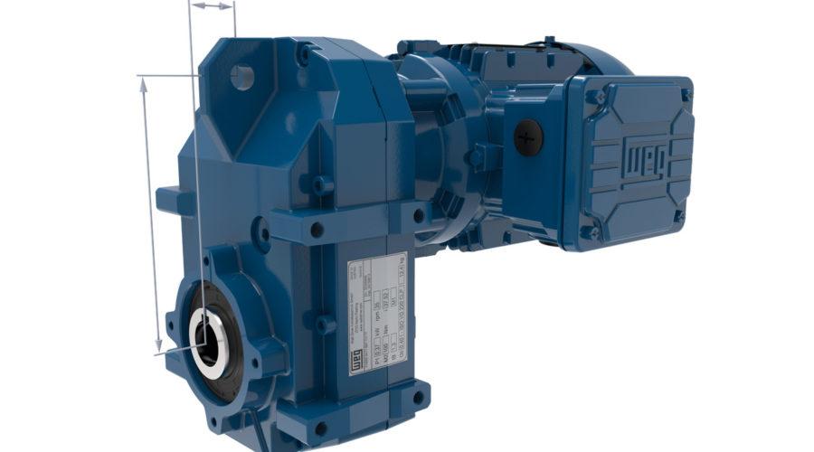 Extension de la gamme des motoréducteurs WG20 à 18000 Nm