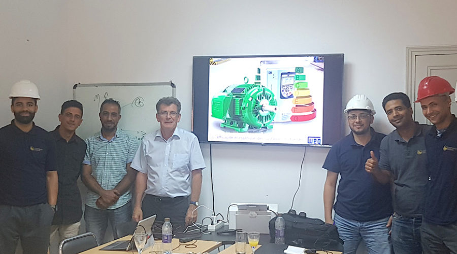 Formation des techniciens sur le site de CARTHAGE Grains à Jebel Oust – Tunisie