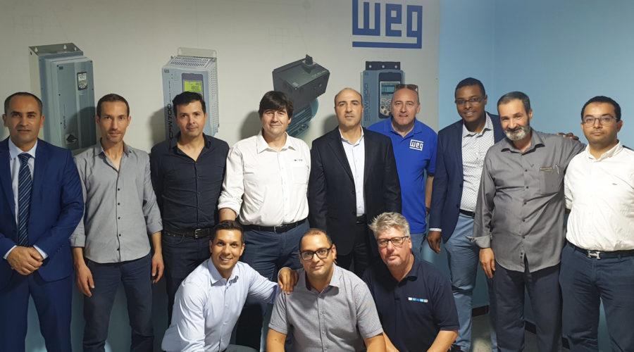 Réseau de service et partenaires agréés WEG en Afrique du Nord  : création d'une nouvelle entité pour la zone EMENA
