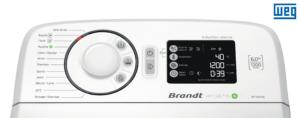 Machine à laver brandt et logo WEG